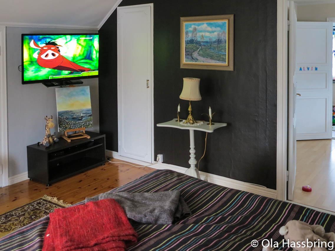 Bokstavsregn och sovrums tv – ola hassbring
